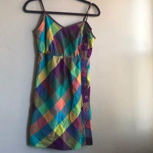 Brooklyn Industries multi color summer dress